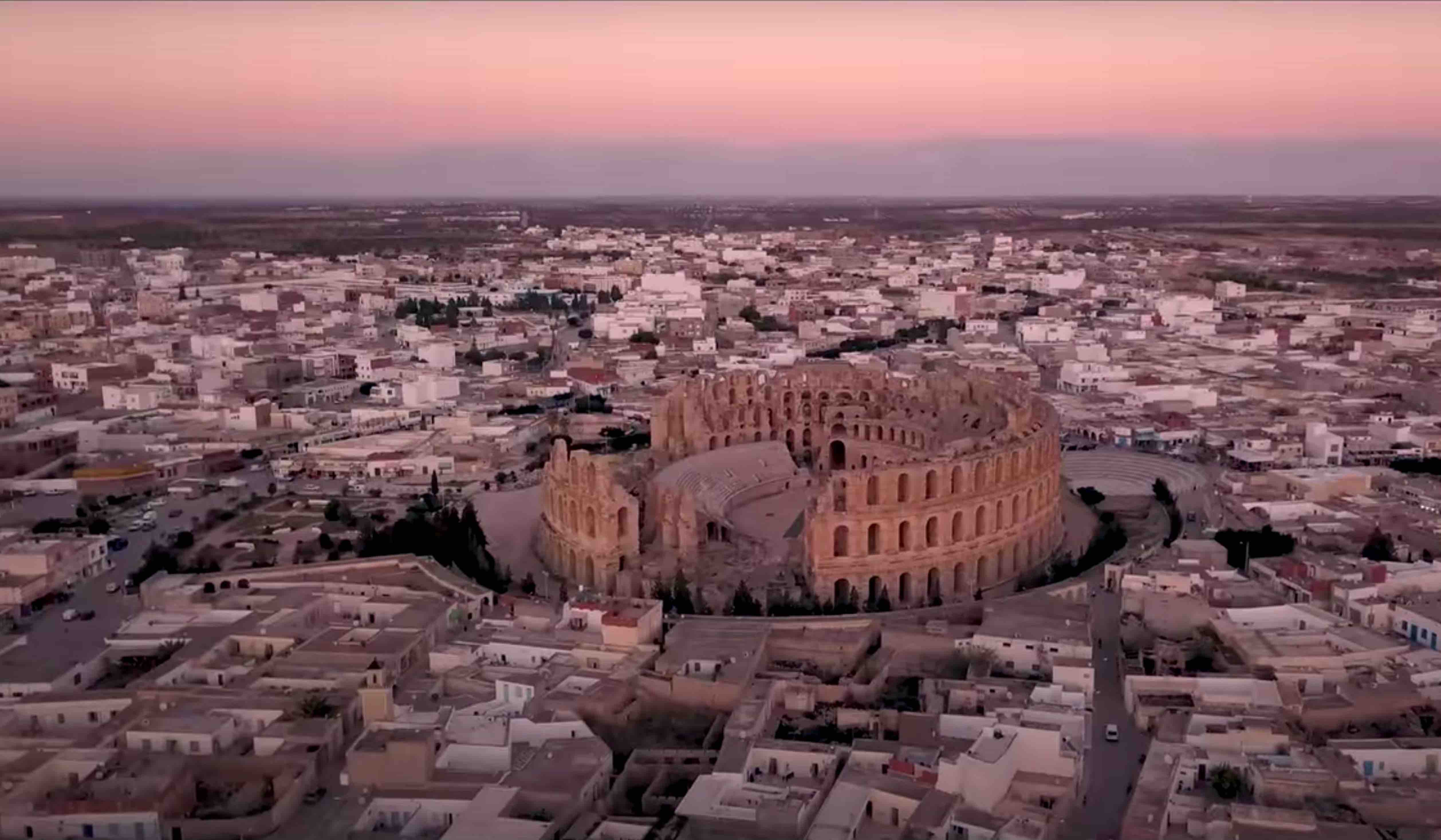 Amphitheater of El Jem ... Discover Tunisia (Belle Tunisie 26) HD English subtitles
